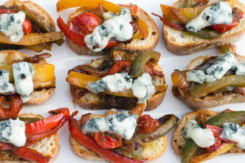 Pepper and Gorgonzola Bruschetta 7.jpg