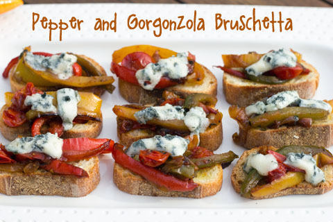 Pepper and Gorgonzola Bruschetta.jpg