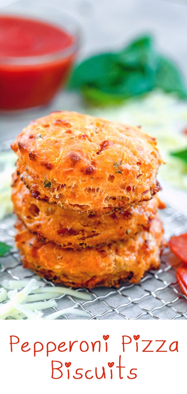 Pepperoni Pizza Biscuits