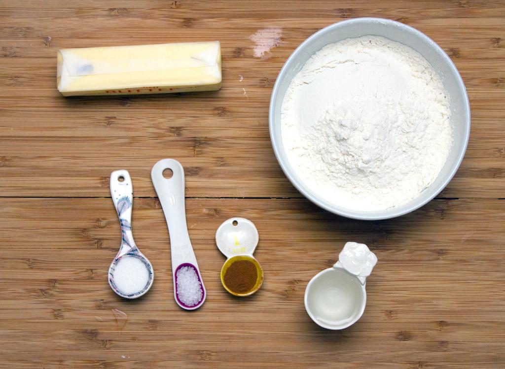 Pie Crust Cookie Ingredients