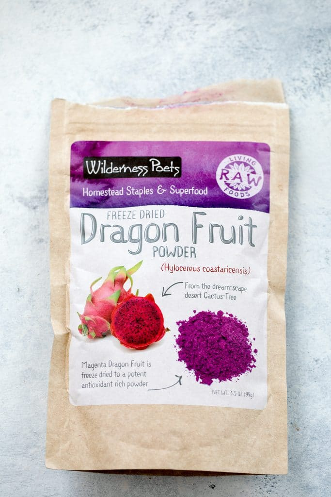 Dragon fruit powder packaging