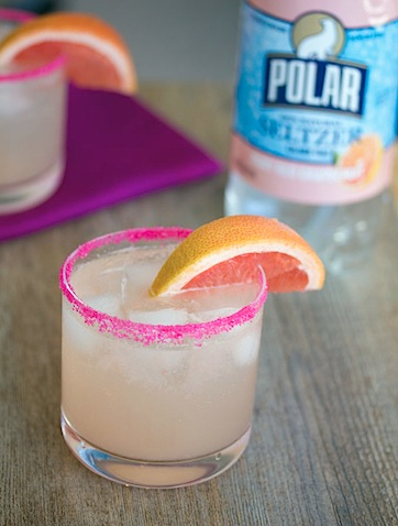 Triple Grapefruit Fizz Cocktail with Polar Seltzer -- wearenotmartha.com