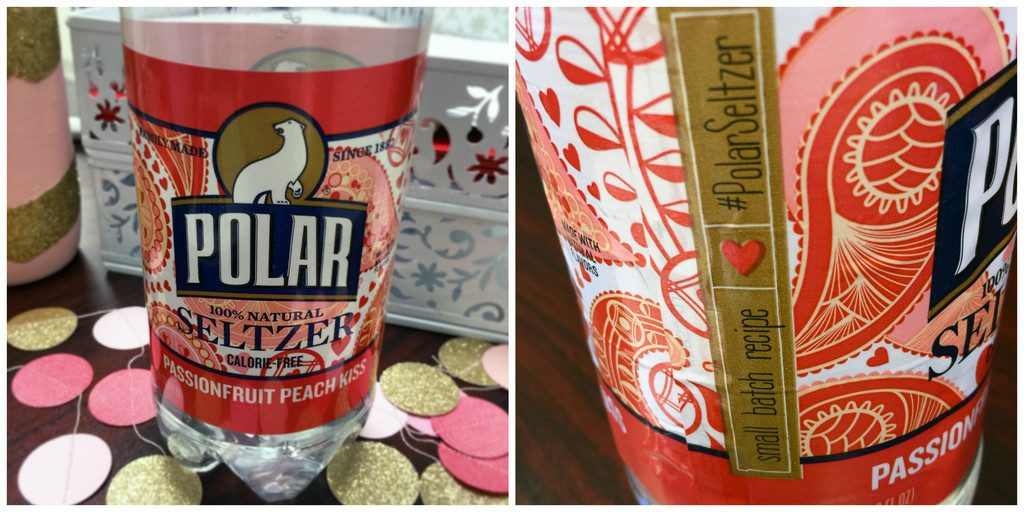 Passionfruit Peach Kiss Polar Seltzer | wearenotmartha.com