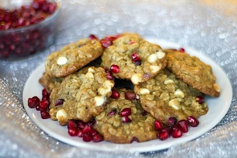Pomegranate White Chocolate Oatmeal Cookies 2.jpg