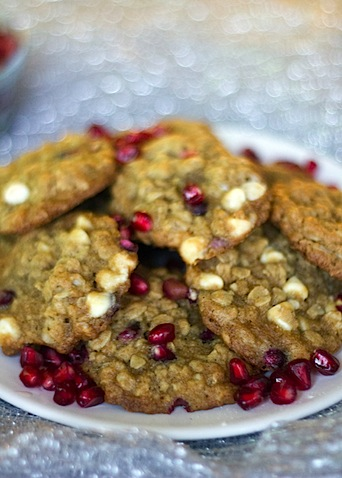 Pomegranate White Chocolate Oatmeal Cookies 3.jpg