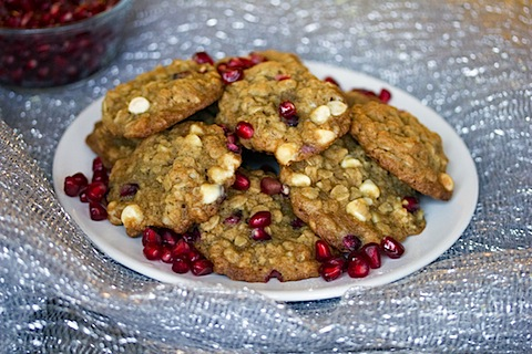 Pomegranate White Chocolate Oatmeal Cookies 8.jpg