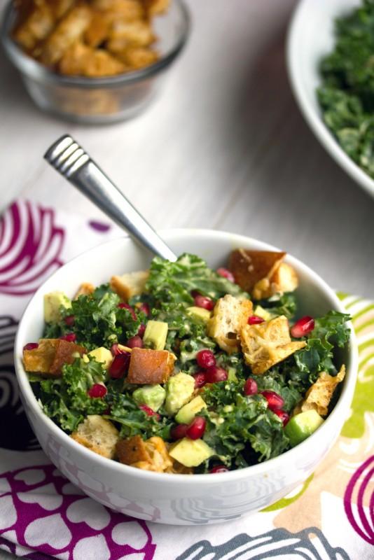 Pomegranate_Avocado_Kale_Caesar_Salad_3