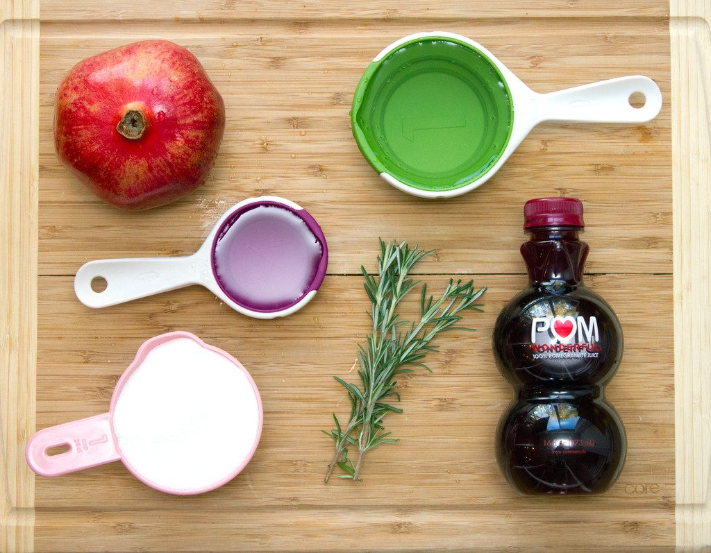 Pomegranate_Rosemary_Gin_Sparkler_Ingredients