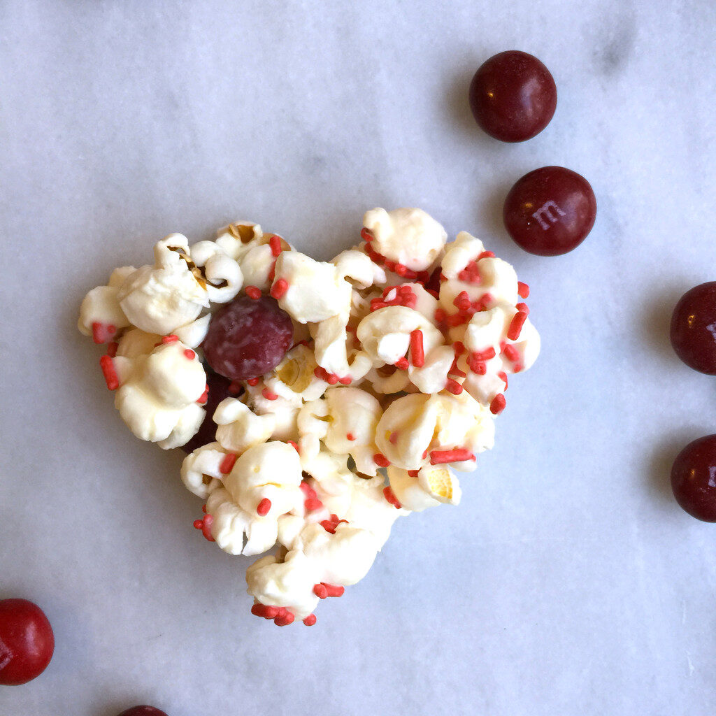 Popcorn Hearts | wearenotmartha.com