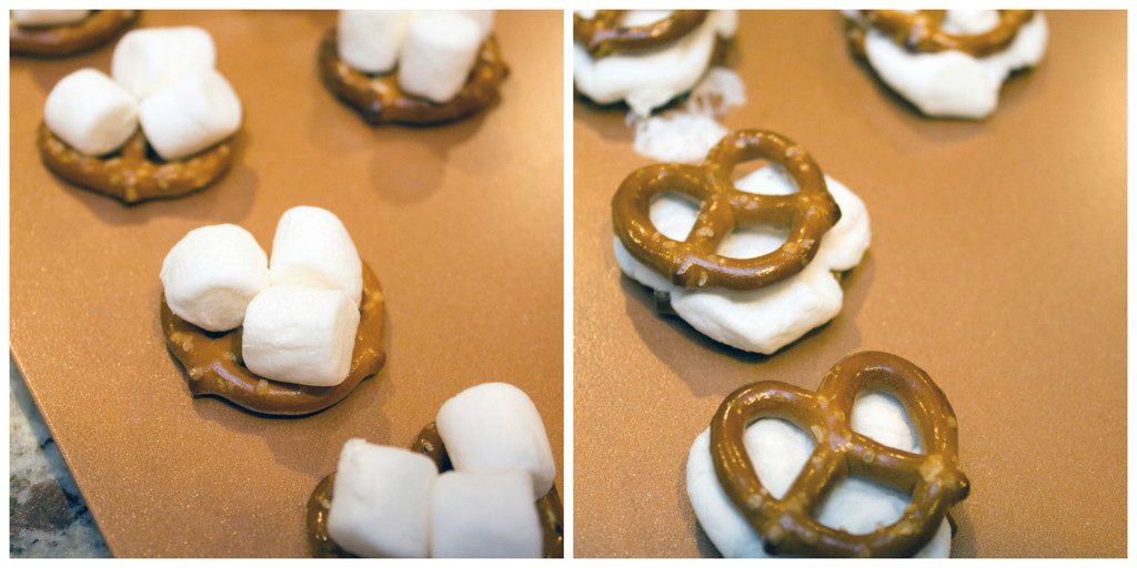 Pretzels-Marshmallows