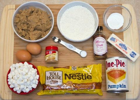 Pumpkin Butterscotch  Blondies Ingredients.jpg