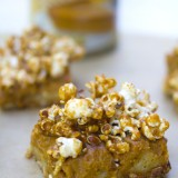 Pumpkin Butterscotch Caramel Corn Bars