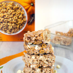 Pumpkin Cheerios Marshmallow Treats