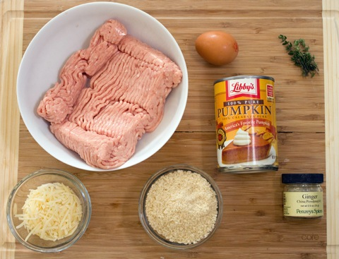 Pumpkin Chicken Meatball Ingredients.jpg