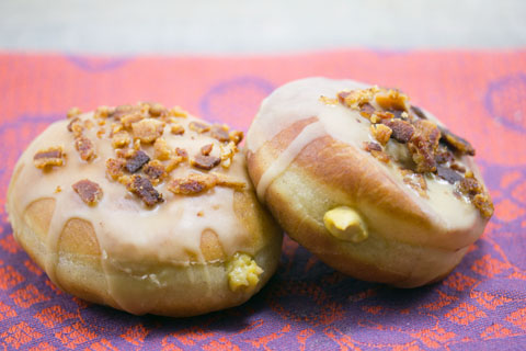 Pumpkin Doughnuts with Maple Bacon Frosting 17.jpg