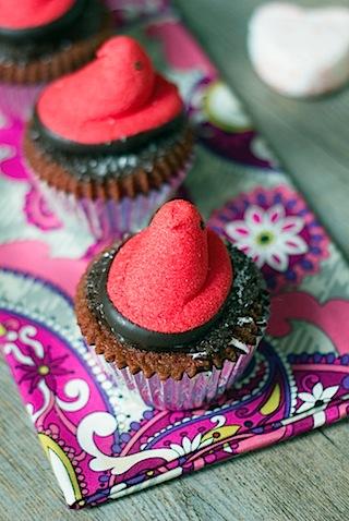 Red Velvet Marshmallow Peeps Cupcakes 4.jpg