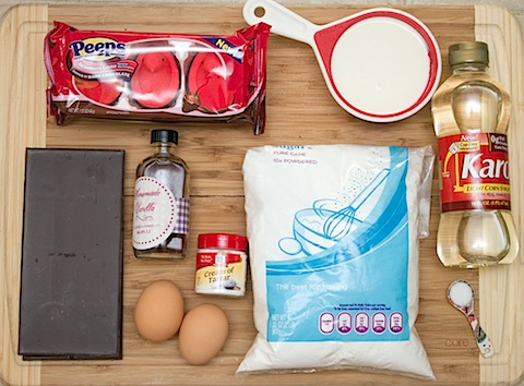 Red Velvet Marshmallow Peeps Cupcakes Ingredients 2.jpg