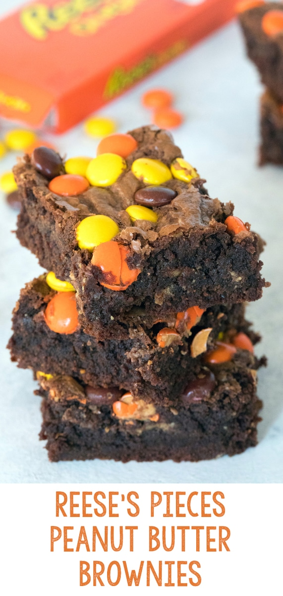 Reese\'s Pieces Peanut Butter Brownies