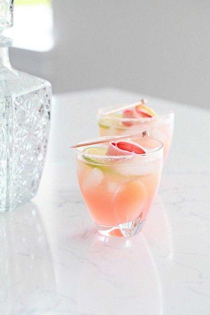 Rhubarb-Palomas
