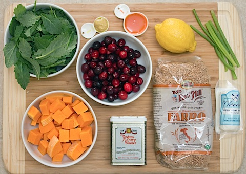 Roasted Cranberry Farro Salad with Curry Dressing Ingredients.jpg