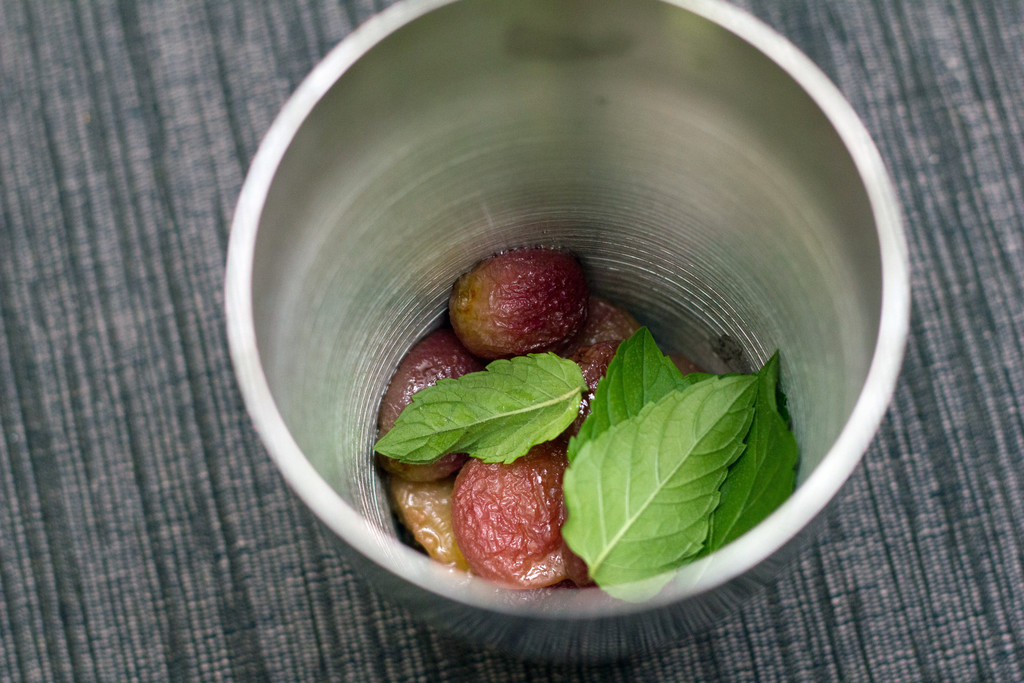 Roasted Grape Cocktail Shaker