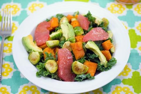 Roasted Vegetable and Citrus Kale Salad- 5.jpg