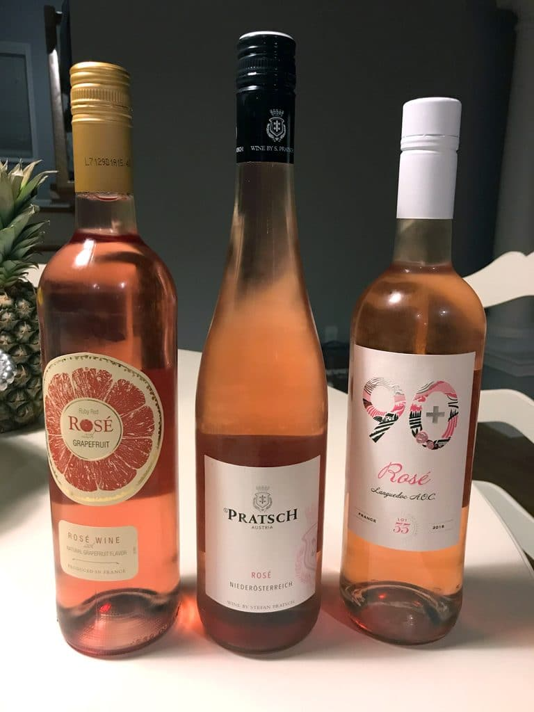 Selection of Rosés| wearenotmartha.com