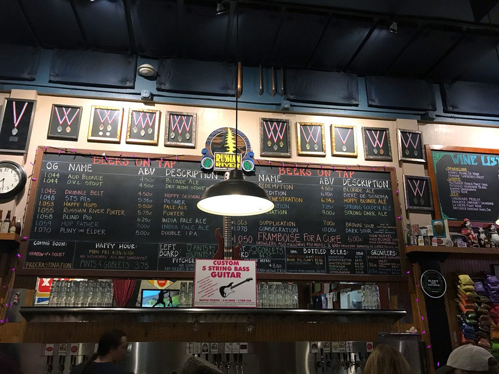 San Francisco and Wine Country Trip -- Russian River Brewery | wearenotmartha.com