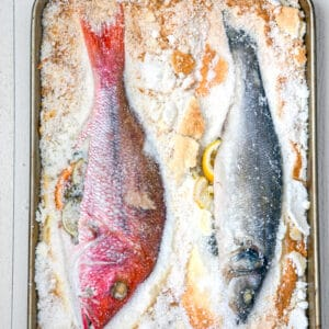 Salt Baked Fish