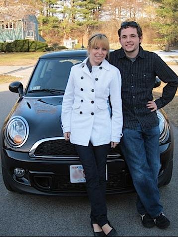 Sues Chris New Car