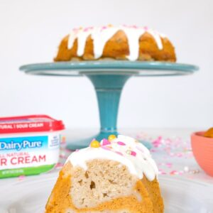 Sour Cream Pumpkin Pie Bundt Cake