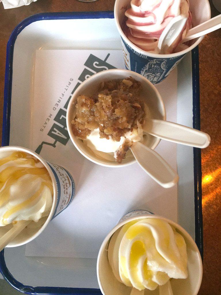 Souvla San Francisco Frozen Yogurt | wearenotmartha.com