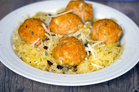 Spaghetti Squash and Pumpkin Chicken Meatballs 10.jpg