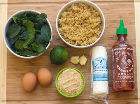 Sriracha Quinoa Cakes Ingredients.jpg