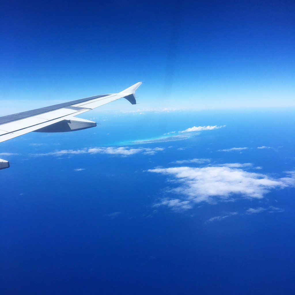 Flying to St. Maarten | wearenotmartha.com