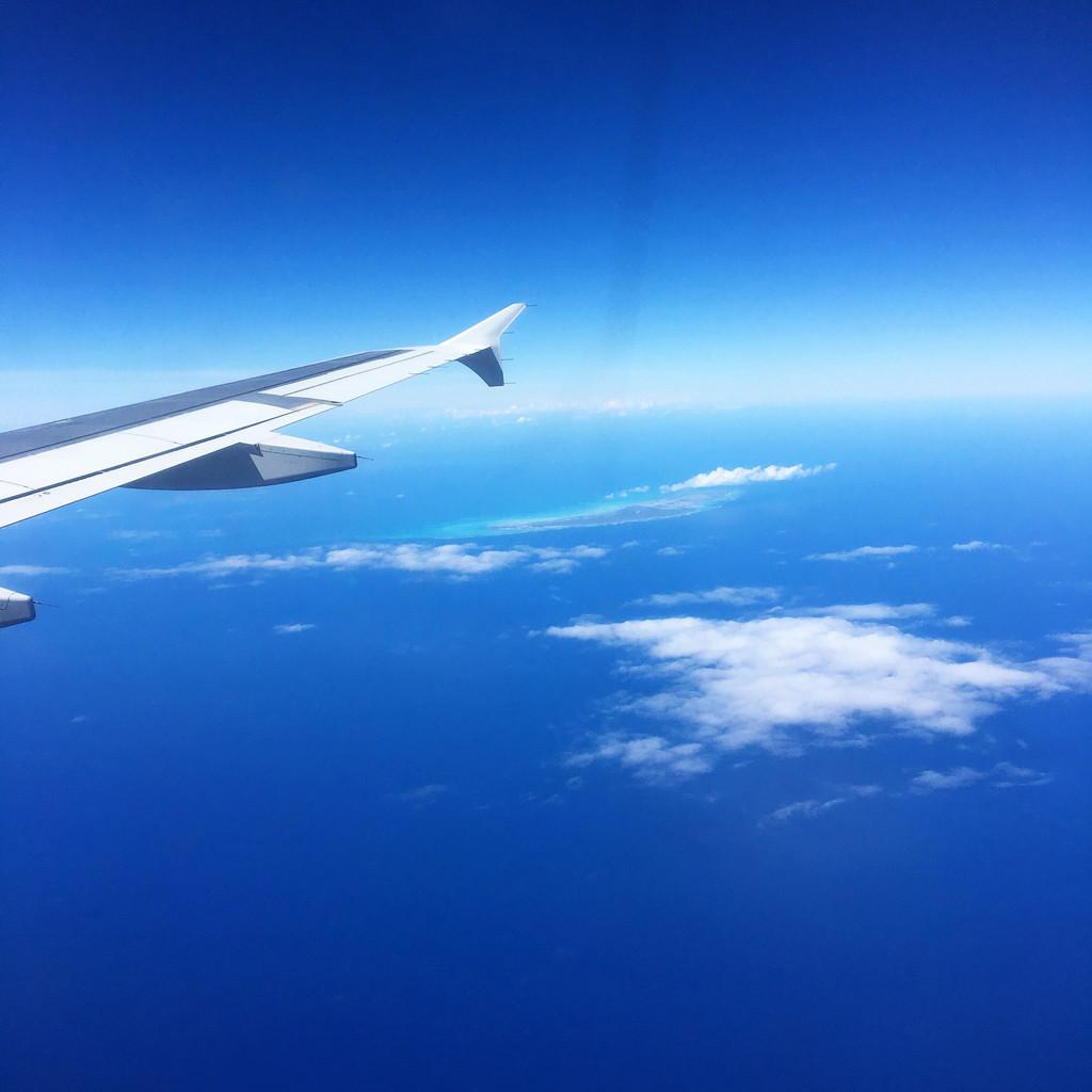 Flying to St. Maarten | wearenotmartha.com