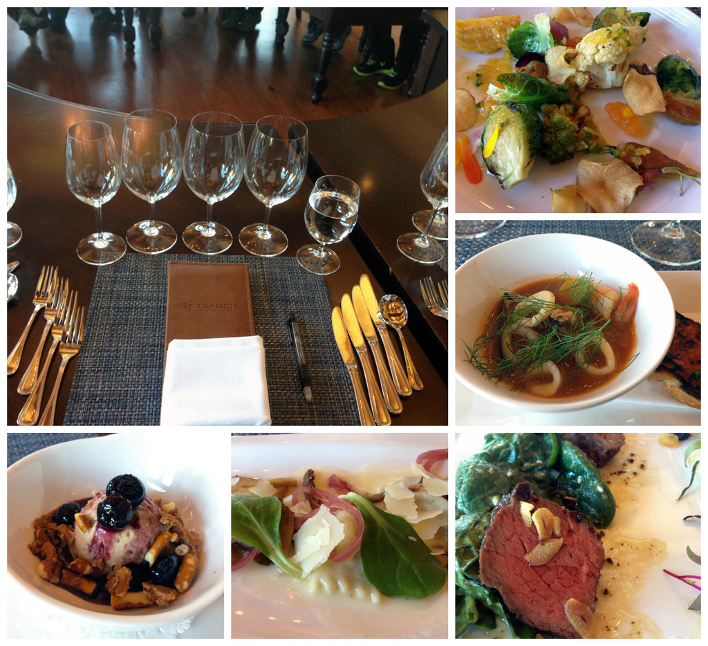 St._Francis_Winery_Tasting_Lunch