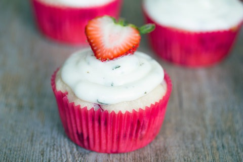 Strawberry Cupcakes with Mint Goat Cheese Buttercream 4.jpg