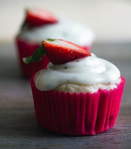 Strawberry Cupcakes with Mint Goat Cheese Buttercream 7.jpg