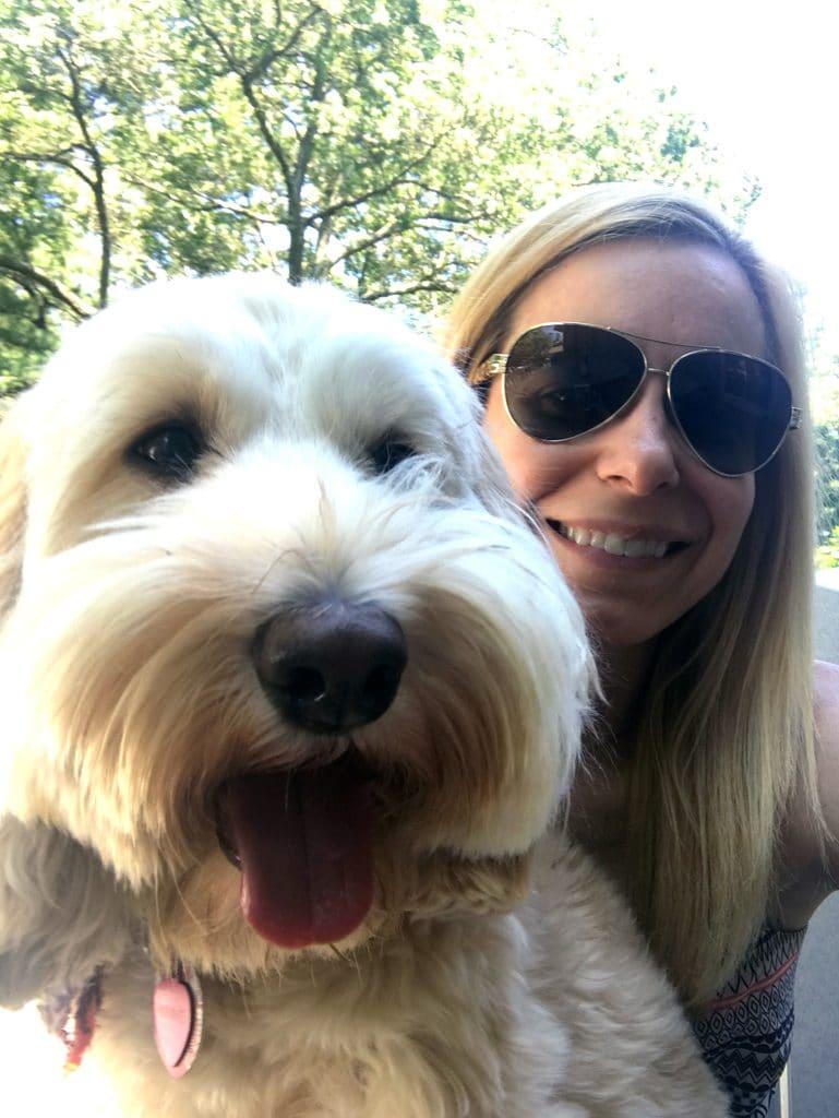 Winnie the Labradoodle| wearenotmartha.com