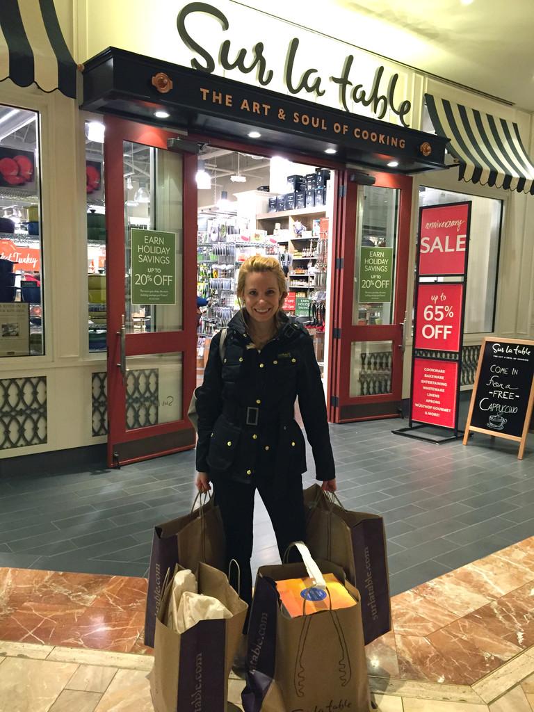 Sur La Table Shopping Copley