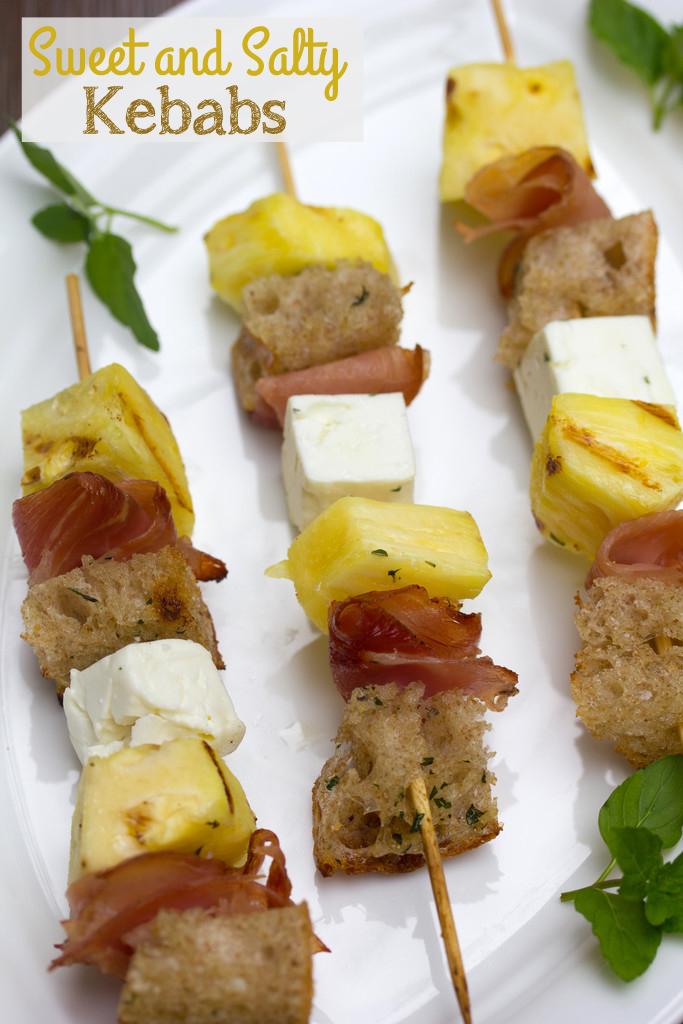 Sweet and Salty Kebabs