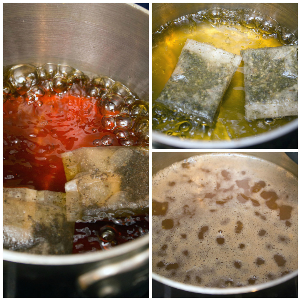 Tea-Oatmeal-Cooking