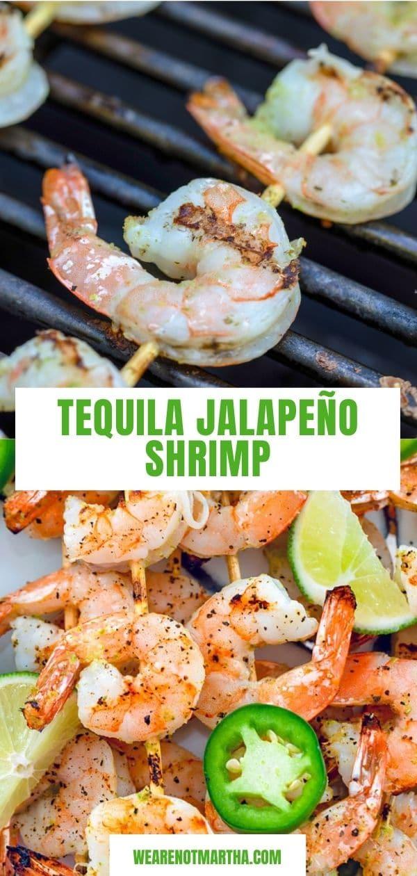 Tequila Jalapeño Shrimp
