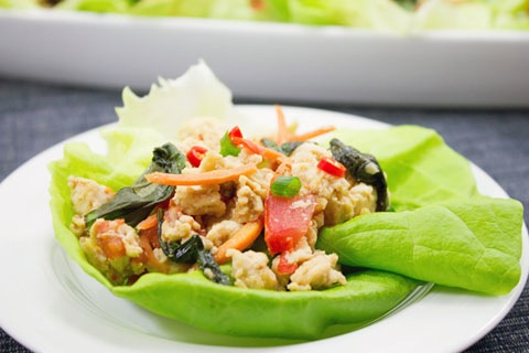 Thai Chicken Basil Lettuce Wraps 4.jpg