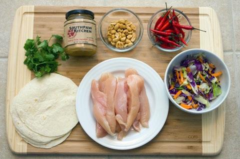 Thai Chicken Tacos with Peanut Sauce Ingredients.jpg