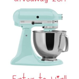 Thanksgiving KitchenAid Mixer Giveaway