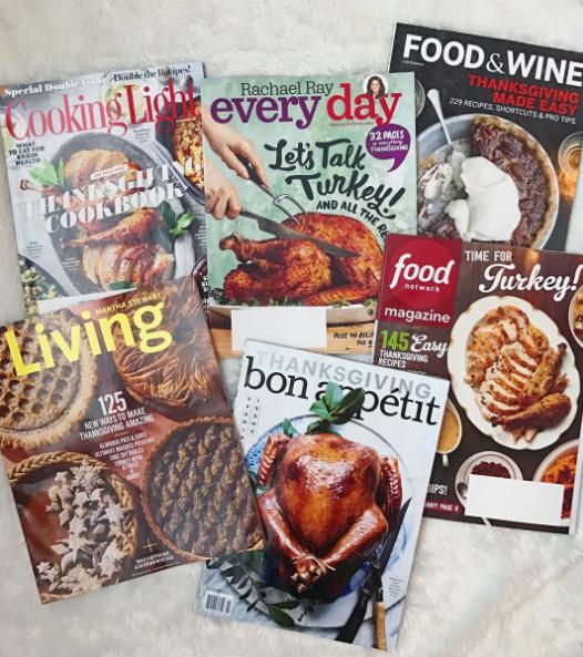Thanksgiving magazines | wearenotmartha.com