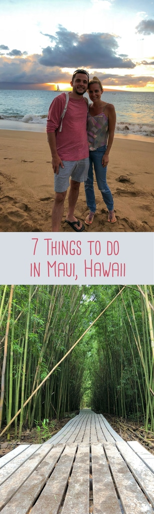 If you're planning a Hawaii trip, this post featuring things to do in Maui will help you find activities to do, things to eat, & more! | wearenotmartha.com #Hawaii #Maui #vacation #travel