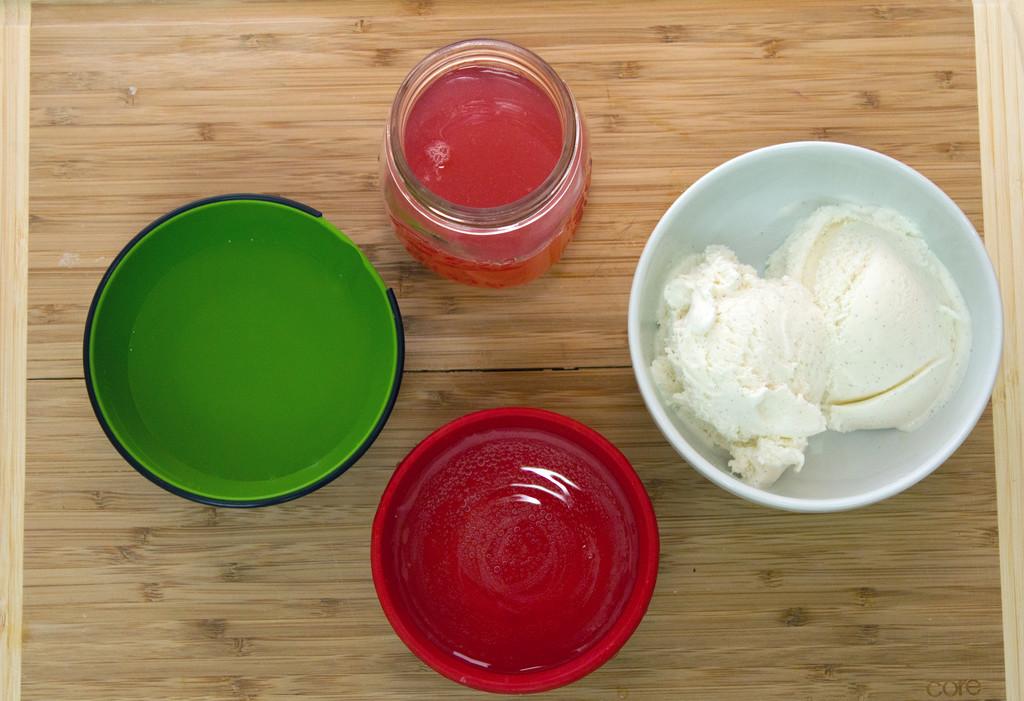 Tipsy Rhubarb Ice Cream Soda Ingredients